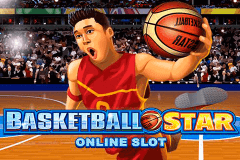 logo basketball star microgaming spillemaskine