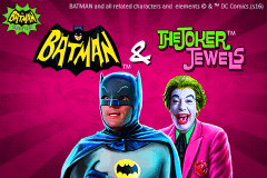 logo batman the joker jewels playtech spillemaskine
