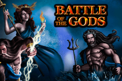 logo battle of the gods playtech spillemaskine