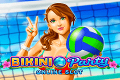 logo bikini party microgaming spillemaskine