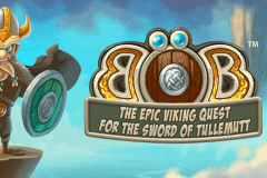 logo bob the epic viking quest netent spillemaskine