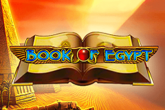 logo book of egypt deluxe novomatic spillemaskine