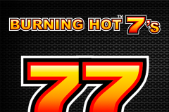 logo burning hot sevens novomatic spillemaskine