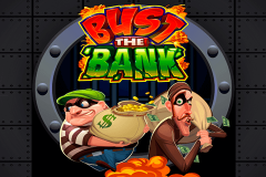 logo bust the bank microgaming spillemaskine