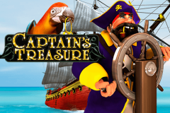 logo captains treasure playtech spillemaskine