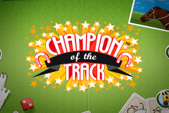 logo champion of the track netent spillemaskine