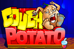 logo couch potato microgaming spillemaskine