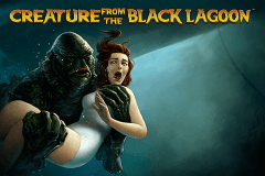 logo creature from the black lagoon netent spillemaskine