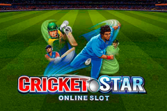 logo cricket star microgaming spillemaskine