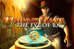 logo daring dave the eye of ra playtech spillemaskine