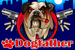 logo dogfather microgaming spillemaskine