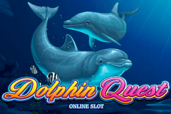 logo dolphin quest microgaming spillemaskine