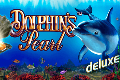 logo dolphins pearl deluxe novomatic spillemaskine