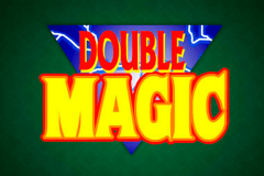 logo double magic microgaming spillemaskine