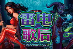 logo electric diva microgaming spillemaskine