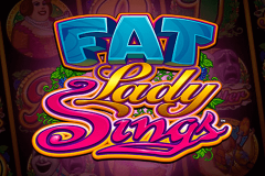 logo fat lady sings microgaming spillemaskine