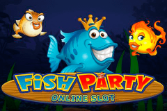 logo fish party microgaming spillemaskine