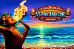 logo flame dancer novomatic spillemaskine