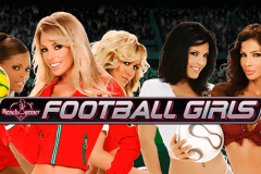 logo football girls playtech spillemaskine