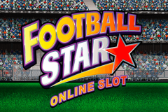 logo football star microgaming spillemaskine