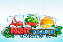 logo fruit shop christmas edition netent spillemaskine
