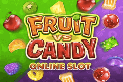 logo fruit vs candy microgaming spillemaskine