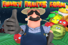 logo funky fruits farm playtech spillemaskine