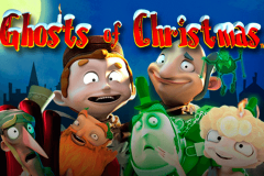 logo ghosts of christmas playtech spillemaskine