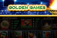logo golden games playtech spillemaskine