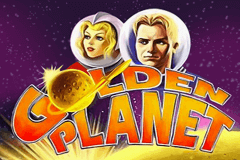 logo golden planet novomatic spillemaskine