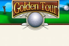 logo golden tour playtech spillemaskine