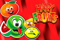 logo happy fruits novomatic spillemaskine