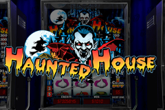logo haunted house playtech spillemaskine