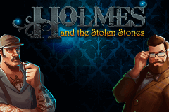logo holmes and the stolen stones spillemaskine