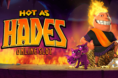 logo hot as hades microgaming spillemaskine