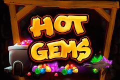 logo hot gems playtech spillemaskine