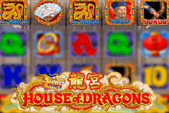 logo house of dragons microgaming spillemaskine