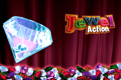 logo jewel action novomatic spillemaskine