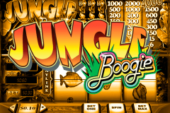 logo jungle boogie playtech spillemaskine