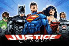 logo justice league nextgen gaming spillemaskine