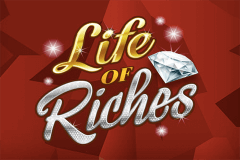 logo life of riches microgaming spillemaskine