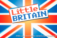 logo little britain playtech spillemaskine