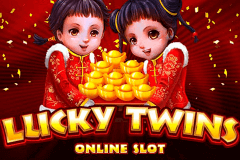 logo lucky twins microgaming spillemaskine