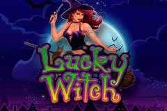 logo lucky witch microgaming spillemaskine