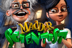 logo madder scientist betsoft spillemaskine
