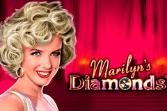 logo marilyns diamonds novomatic spillemaskine