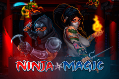 logo ninja magic microgaming spillemaskine