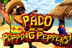 logo paco and the popping peppers betsoft spillemaskine