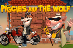 logo piggies and the wolf playtech spillemaskine
