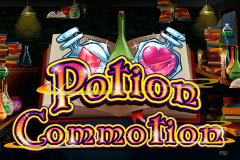 logo potion commotion nextgen gaming spillemaskine